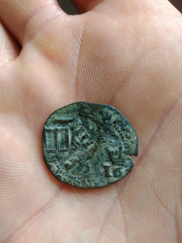 2 maravedís de Felipe III, resellados. Img_2152
