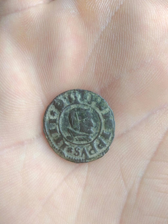 8 maravedís Felipe IV de Segovia, 1661. Img_2158