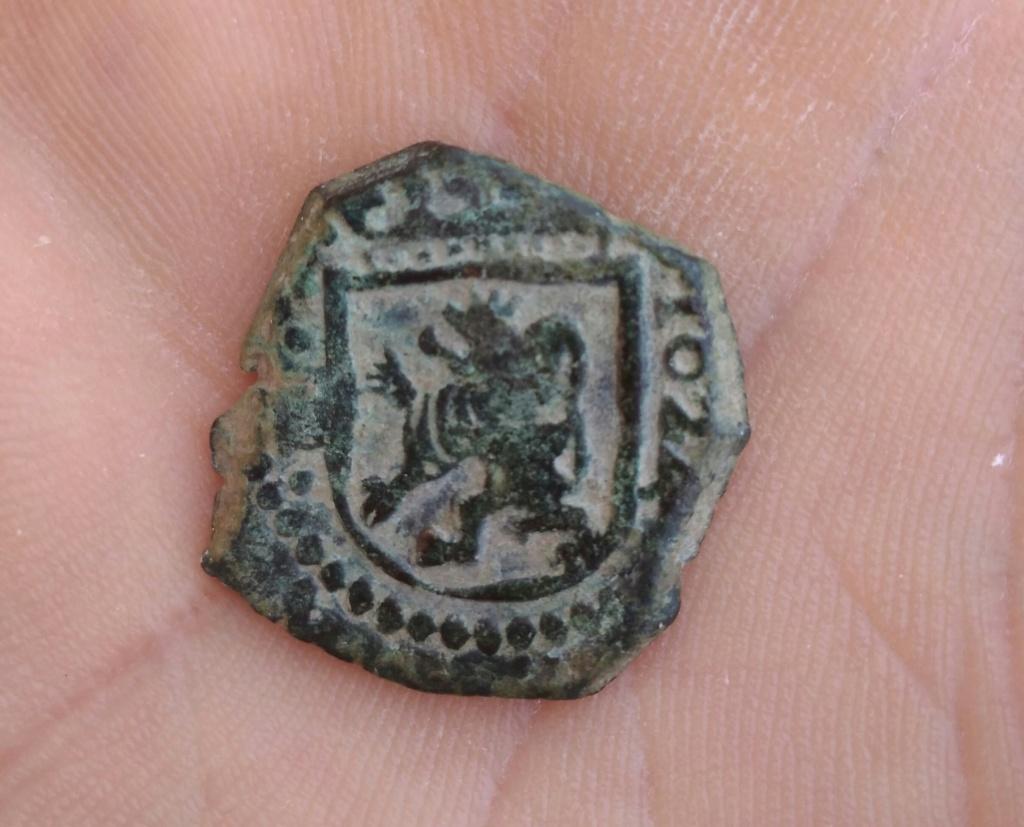 Moneda romana limpiada con Dremel.  Img_2193