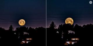 """La """"super Lune"""" est de retour Alzos10"""
