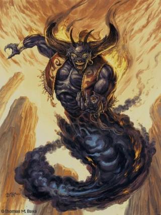 Dictionnaire du diable et des démons (3) Djinn10