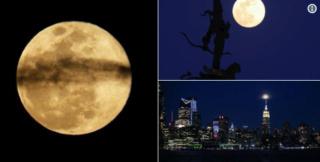 """La """"super Lune"""" est de retour Eurone10"""