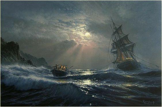 Cinq naufrages pour une vieille dame Naufra10
