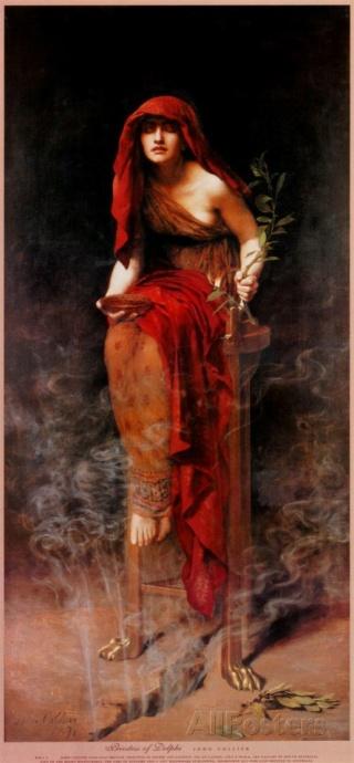 La Pythie de Delphes avait vu juste Pythie10