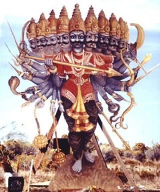 Dictionnaire du diable et des démons (8) Ravana11