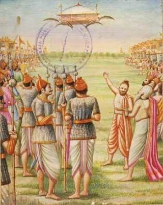 Les soucoupes volantes de l'Inde Vimana12