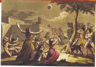 Les éclipses : mythes, légendes et peurs Zoclip13