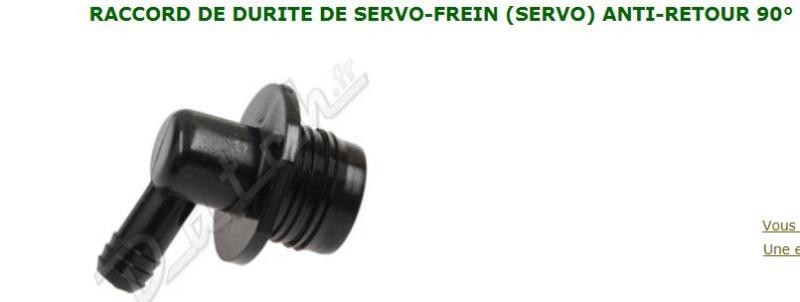 Servofrein et vibration pedale de freins Captur43