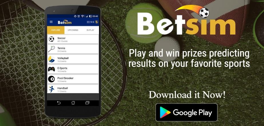 Oportunidade [Testar] Bet Sim- App de apostas gratuitas que paga por Paypal 110