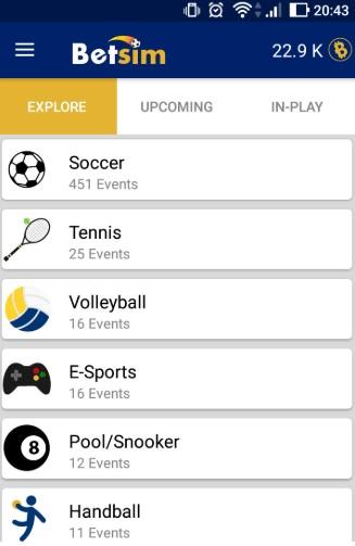 Oportunidade [Testar] Bet Sim- App de apostas gratuitas que paga por Paypal 210