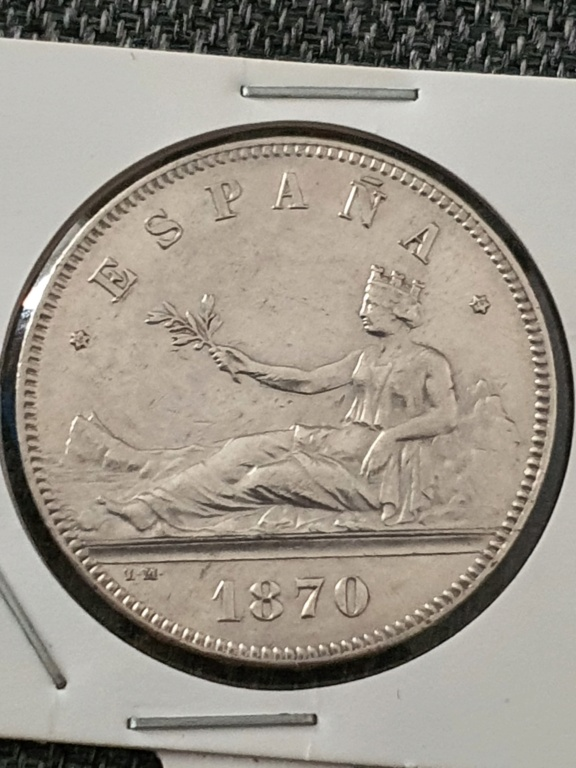 5 pesetas 1870 20210416
