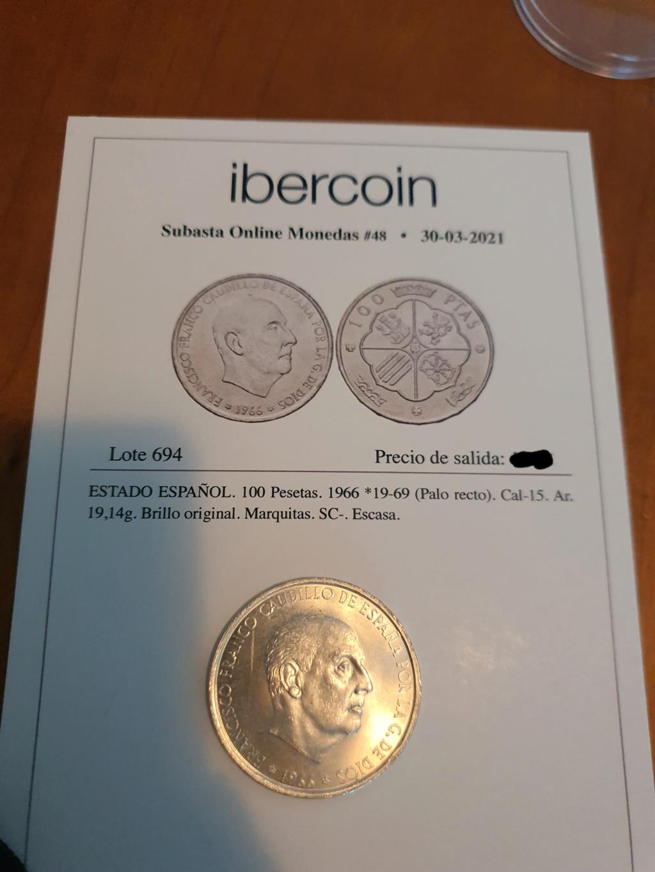 100 pesetas 1969 palo recto 20210420