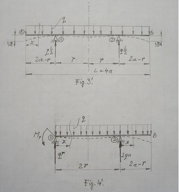 rezistenta materialelor - Modelarea Gravitatiei, in Rezistenta Materialelor, pe o grinda (plan) incarcata, solicitata la incovoiere  Gv_3_410