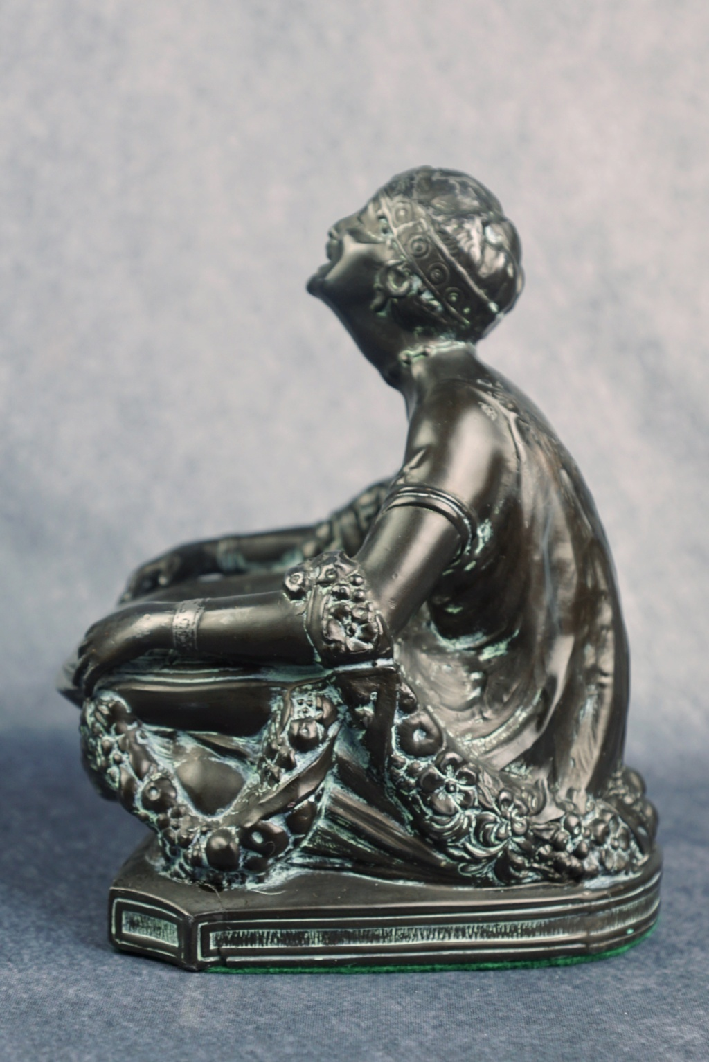 Art Deco Figural Incense Burner Ronson10