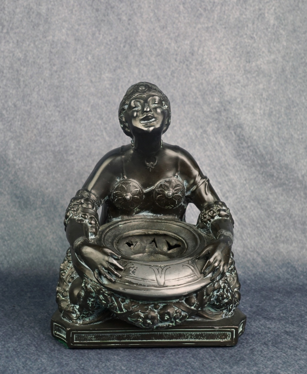 Art Deco Figural Incense Burner Ronson12