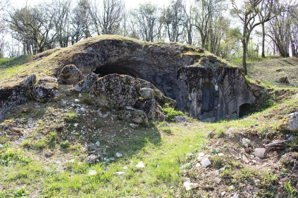 De l'étang de Vaux à Bezonvaux  17511910