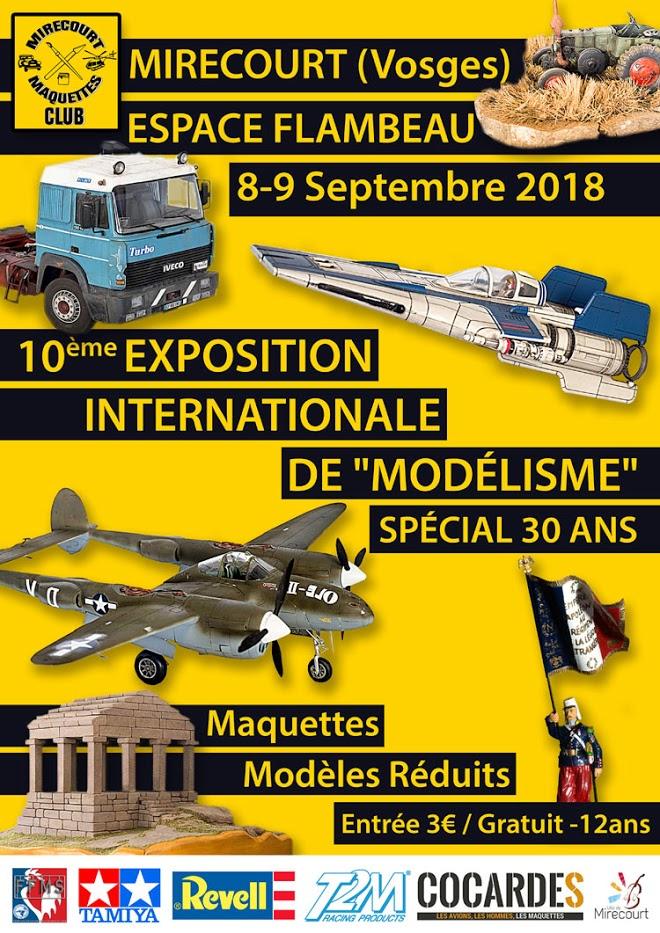 EXPO de MIRECOURT - 2018 - Affich10