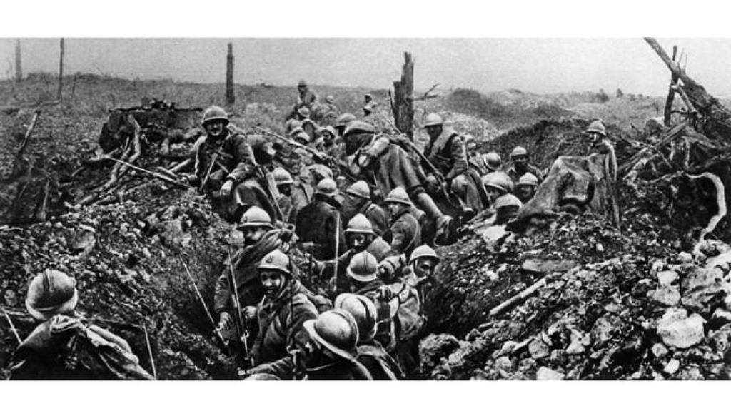 """1916 - L' enfer de VERDUN -[ICM] 35691 French infantery (1916)1/35 """"FIN"""" B9787810"""