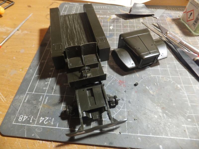 """Corvée d' eau saharienne-Légion étrangère-[tamiya] Jeep, [italeri] Dodge wc 62 1/35 Goumier ICM indigène MB """"FIN"""" Dscf0225"""