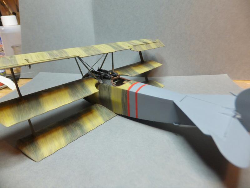 """L' oiseau blessé d'une flèche 1918 -[RODEN] Fokker DR1 1/32 (ROD 605)-[ICM] Ford t touring 1/35 (n°35667) """"FINI"""" - Page 6 Dscf8235"""
