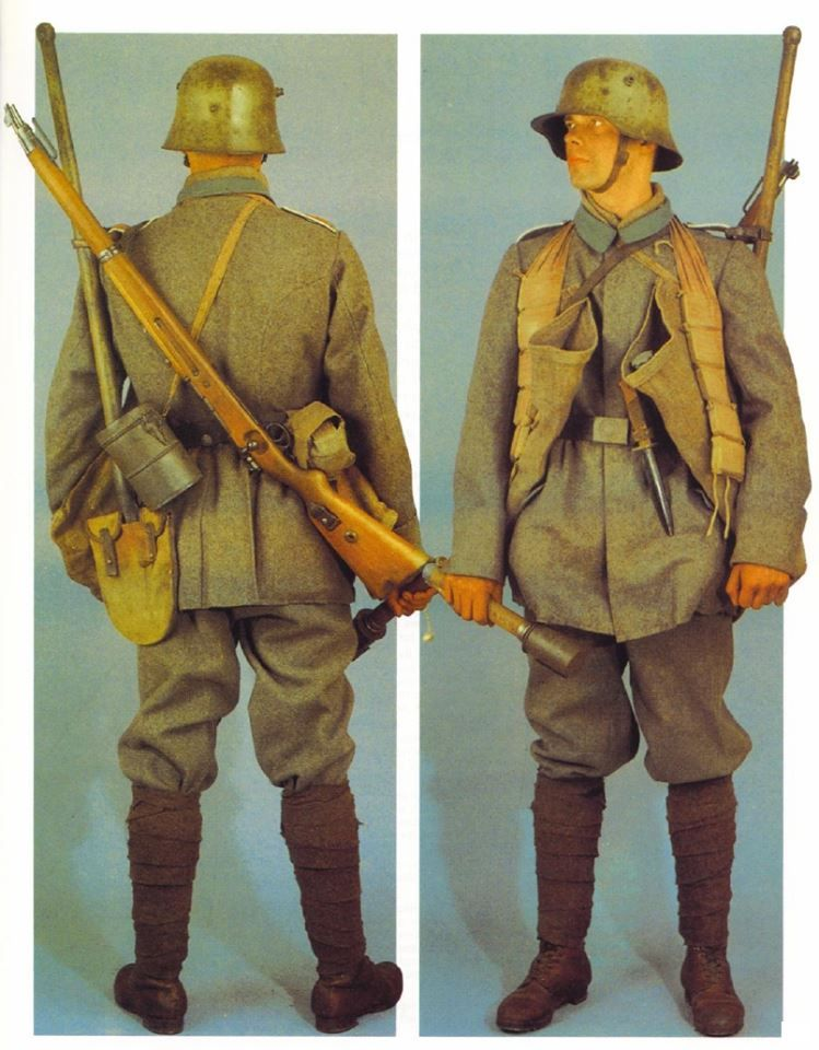 Imperial german army stormtroopers - Figurine Meng 1/35 (FINI) E1895610
