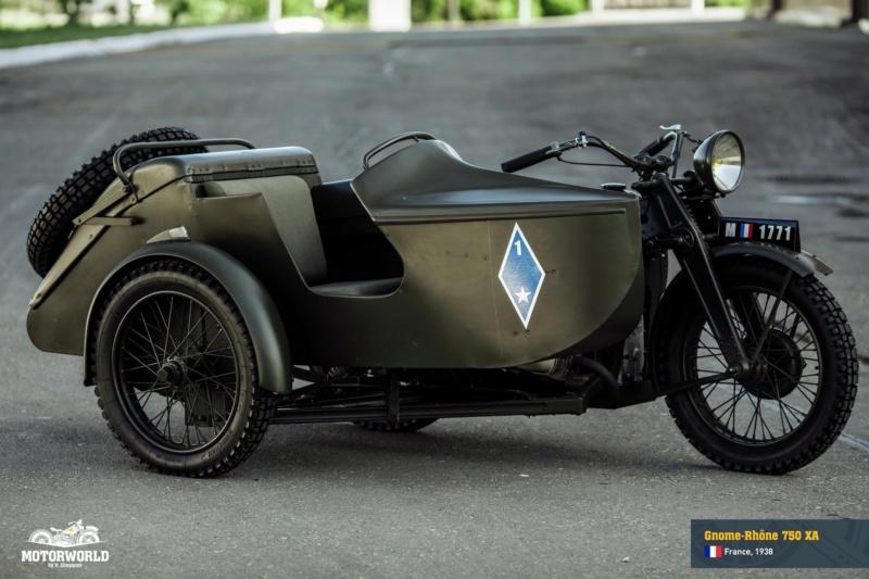 """Sidecar Bernardet modéle 1936 Dragon porté -1/35- scratch """"FIN"""" Gnome-17"""