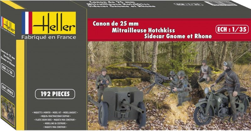 Fil rouge 2020: Hippogriffes en Terres Rouges-[Heller]Gnome & Rhone AX2 Heller11