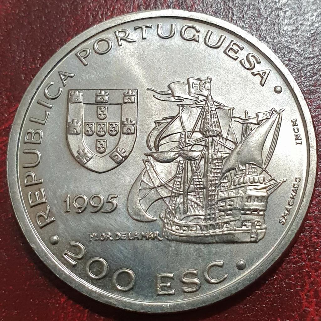 200 escudos de 1995 ( Afonso de Albuquerque e Malaca) República de Portugal Aalbuq11