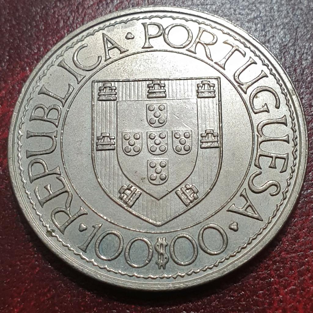 100$00 de 1988 ( Bartolomeu Dias) República Portuguesa Bdiasa10