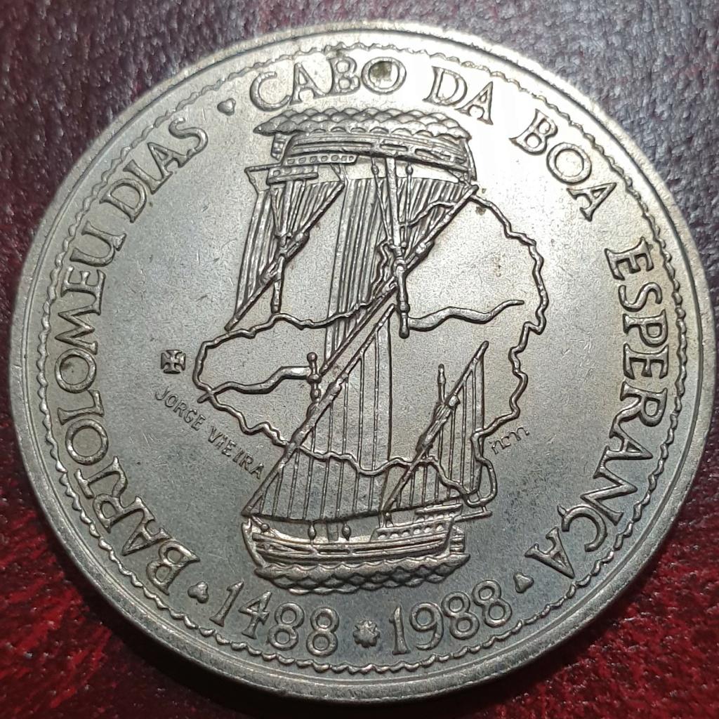 100$00 de 1988 ( Bartolomeu Dias) República Portuguesa Bdiasr10