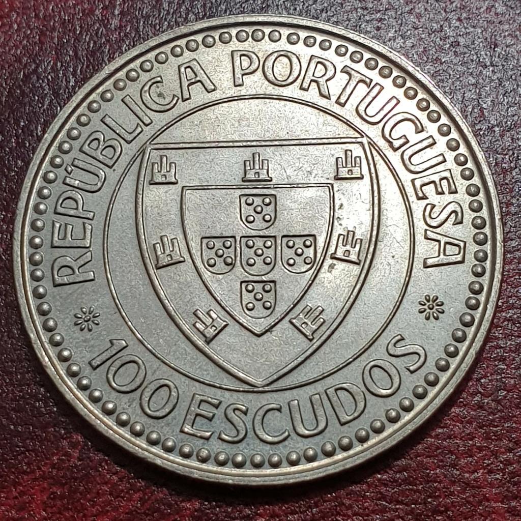 100$00 de 1987 (Cabo Bojador) Republica Portuguesa Gilean12