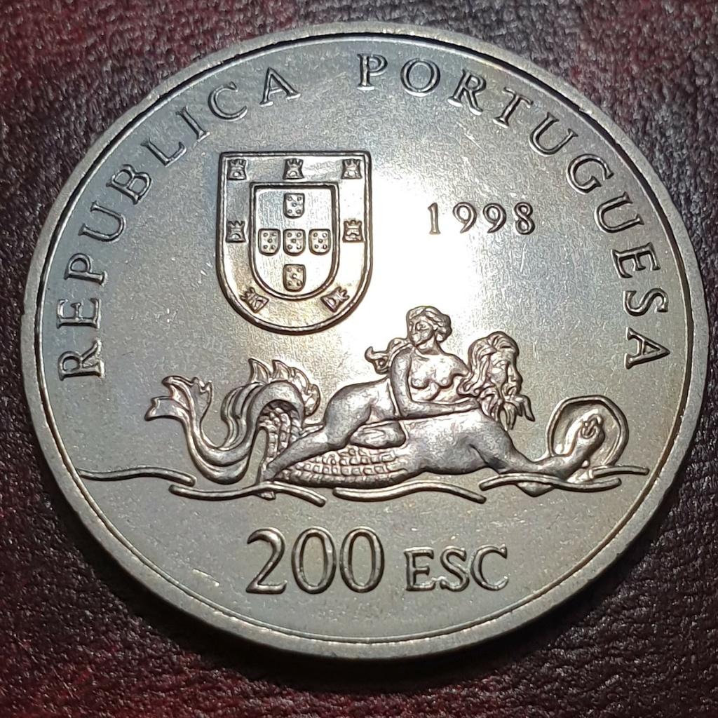 200$00 de 1998 ( Moçambique ) Republica Portuguesa Mozamb14