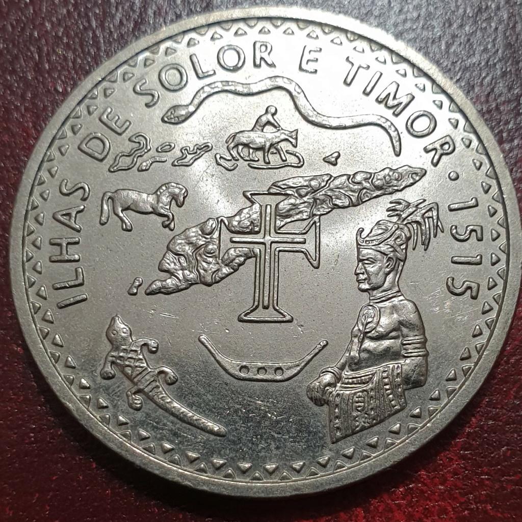 200 escudos de 1995 (Ilhas de Solor e Timor) República Portuguesa Timorr10