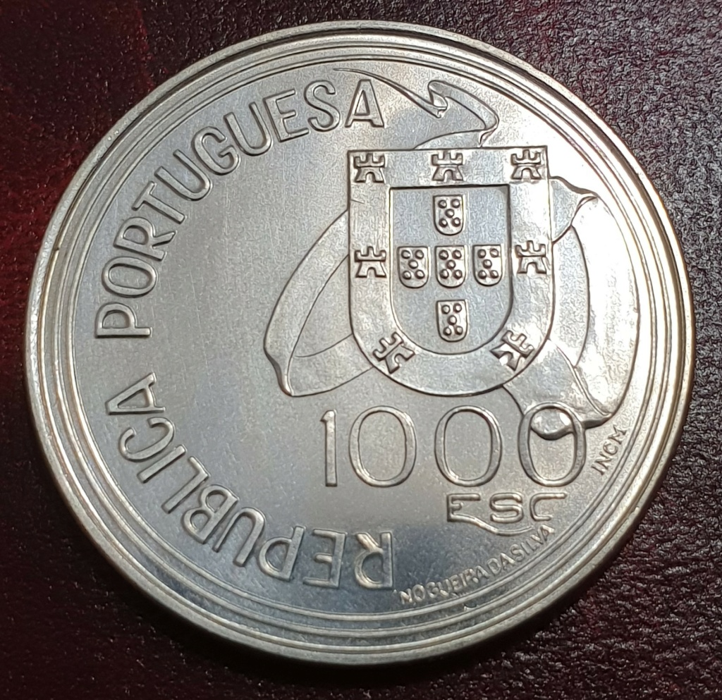 1000$00 Portugal Tratado Tordesilhas 1994 Tratad10
