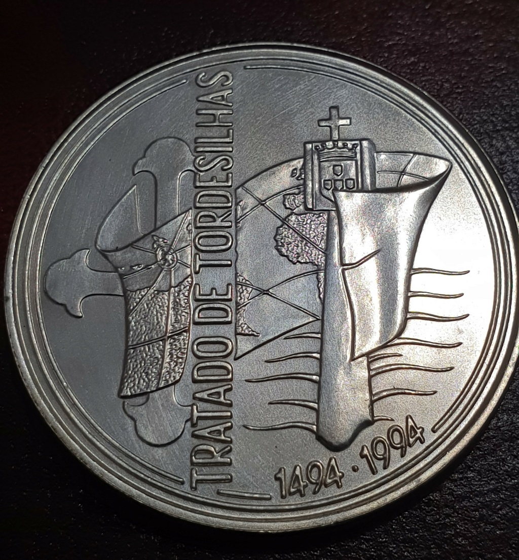 1000$00 Portugal Tratado Tordesilhas 1994 Tratad11