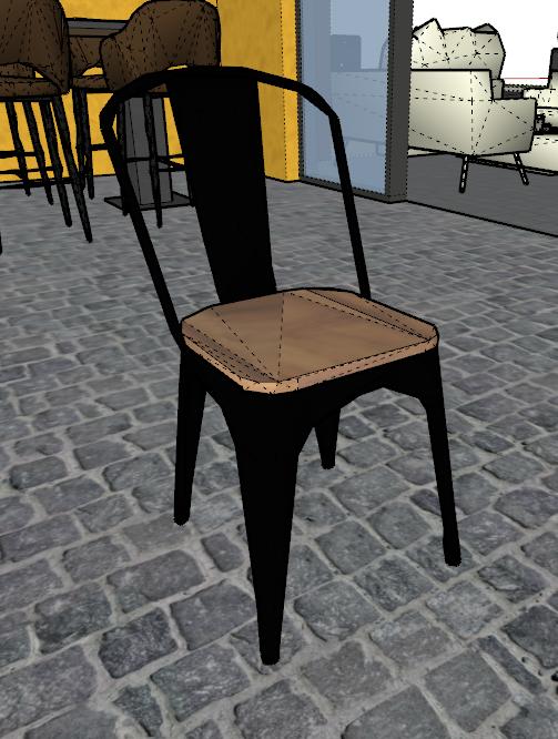 [ ENSCAPE ] Composant supprimé apparaît encore dans Enscape Chaise11