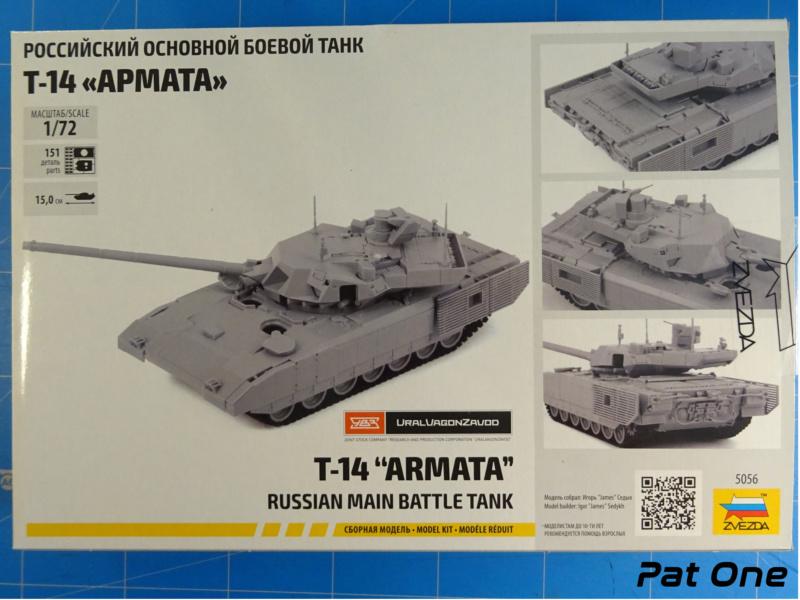 """T-14 """"Armata"""" 1/72 ( Zvezda 5056 ) *** Terminé en pg 2 2020-010"""