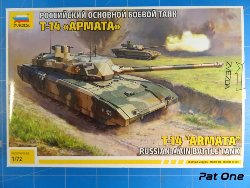 """T-14 """"Armata"""" 1/72 ( Zvezda 5056 ) *** Terminé en pg 2 2020-011"""