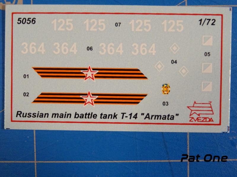 """T-14 """"Armata"""" 1/72 ( Zvezda 5056 ) *** Terminé en pg 2 2020-018"""