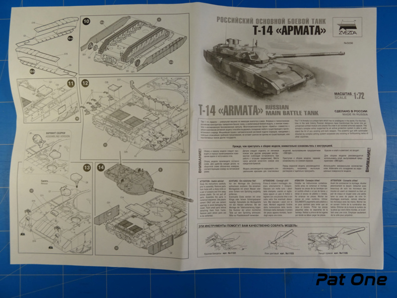 """T-14 """"Armata"""" 1/72 ( Zvezda 5056 ) *** Terminé en pg 2 2020-019"""