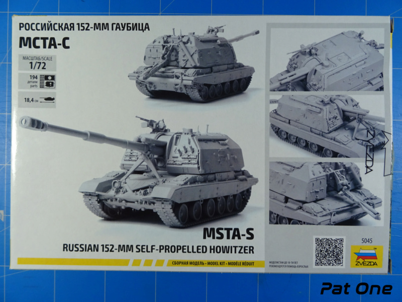 MSTA-S Canon automoteur russe de 152 mm 1/72 (Zvezda 5045) 2020-045