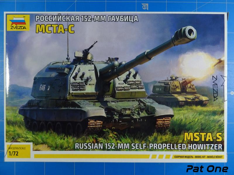 MSTA-S Canon automoteur russe de 152 mm 1/72 (Zvezda 5045) 2020-046