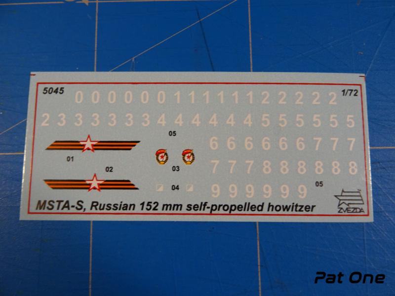 MSTA-S Canon automoteur russe de 152 mm 1/72 (Zvezda 5045) 2020-050