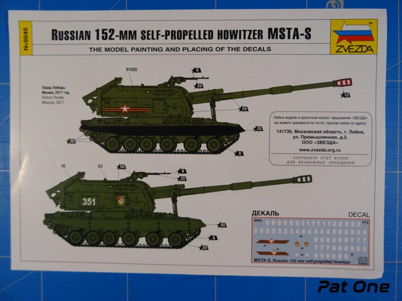 MSTA-S Canon automoteur russe de 152 mm 1/72 (Zvezda 5045) 2020-052