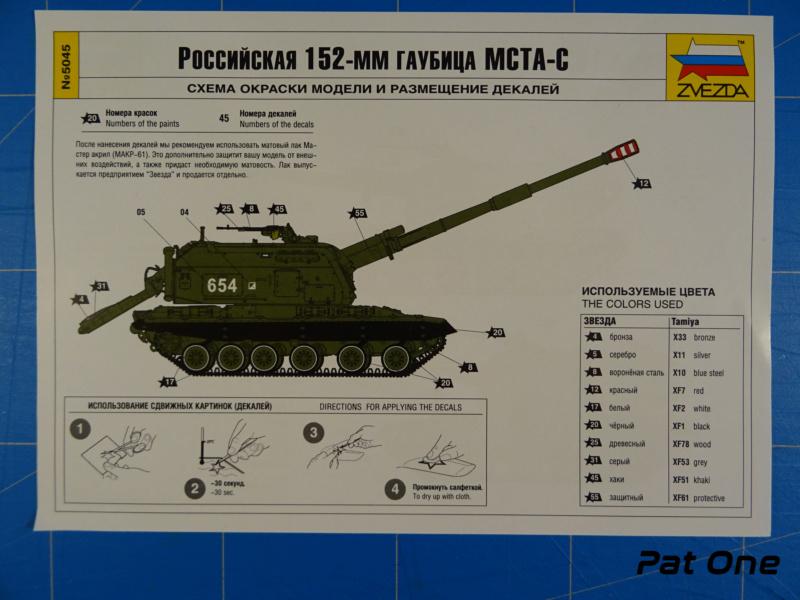 MSTA-S Canon automoteur russe de 152 mm 1/72 (Zvezda 5045) 2020-053