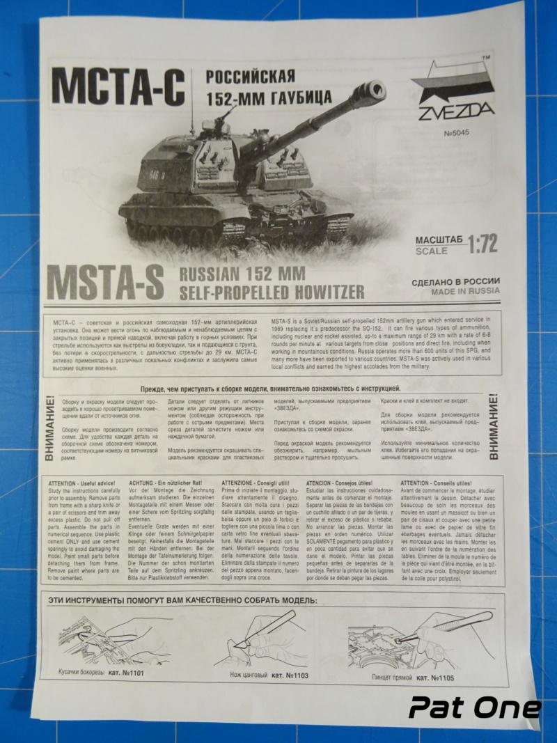 MSTA-S Canon automoteur russe de 152 mm 1/72 (Zvezda 5045) 2020-054