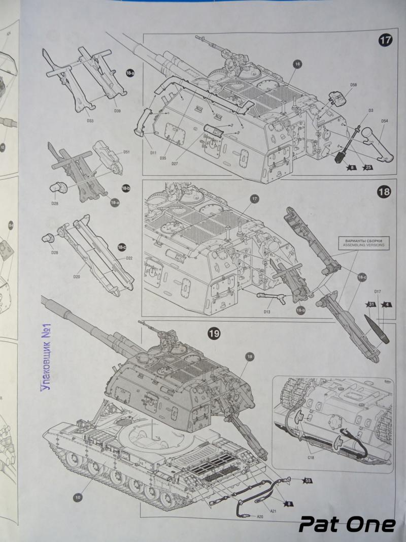 MSTA-S Canon automoteur russe de 152 mm 1/72 (Zvezda 5045) 2020-059