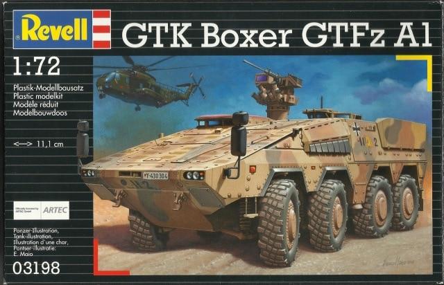 GTK Boxer FüFz A1 / GTK Boxer GTFz A1 1/72 ( Revell 03209 / Revell 03198 ) *** Terminé en pg 3 - Page 2 25179110