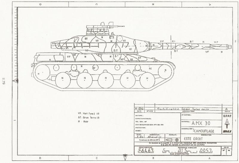 AMX 56 - LECLERC - HELLER 1/35 - FINI PAGE 7 - Page 3 Amx_3012