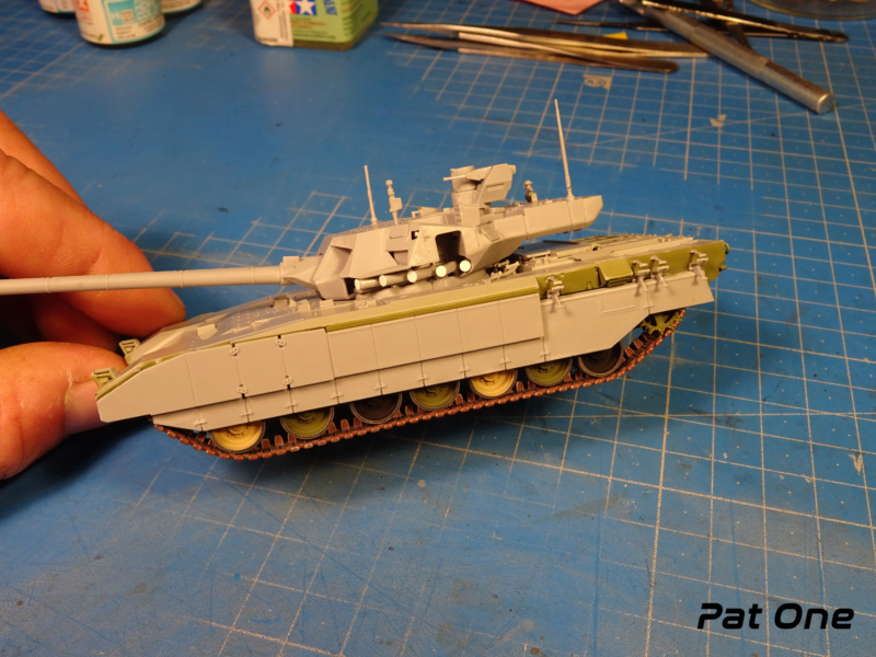 "T-14 ""Armata"" 1/72 ( Zvezda 5056 ) *** Terminé en pg 2 Dsc00811"
